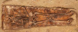 Esqueleto-excavaciones San Lorenzo