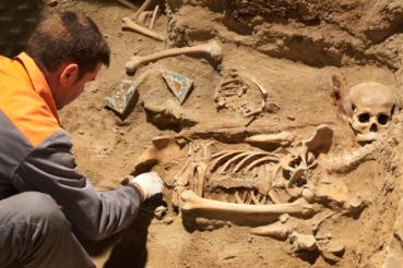 Estudio antropológico de los huesos de la iglesia de San Lorenzo de Úbeda.