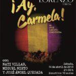 ¡Ay Carmela! Teatro en la iglesia de San Lorenzo de Úbeda
